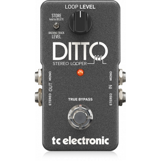 TC ELECTRONIC Ditto Stereo Looper - kytarový pedál