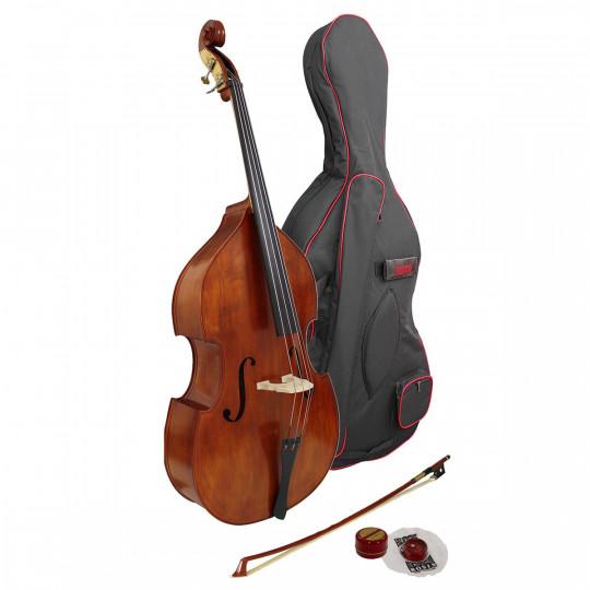 Hidersine Double Bass Vivente ½ Outfit