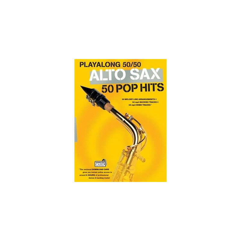 Playalong 50/50 - 50 popových hitů na alt saxofon
