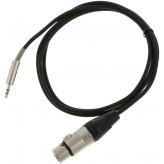 Pro snake camera cable 1,5m  3,5mm jack-XLR female