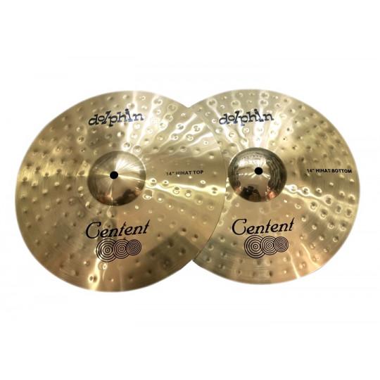 "Centent Dolphin Cymbal Set 14"", 16"", 20"", bag"