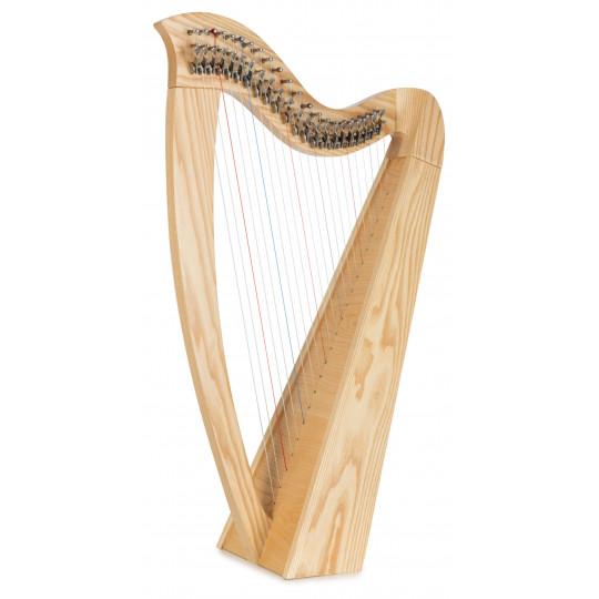 Classic Cantabile H-22 keltská harfa s 22 strunami