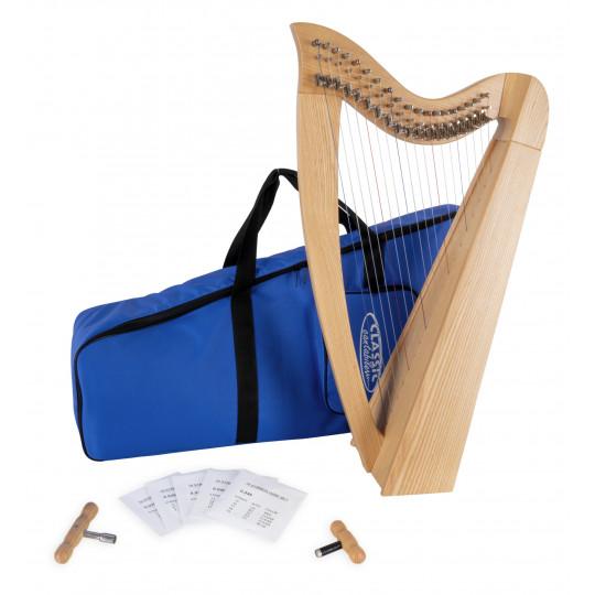 Classic Cantabile H-19 keltská harfa s 19 strunami