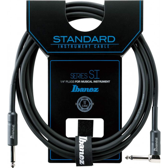 Ibanez SI10L nástrojový kabel 3,05m lomený