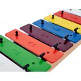 Goldon sopránový metalofon s 12-ti barevnými kameny
