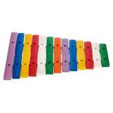 GOLDON - xylofon - 13 barevných kamenů (11205)