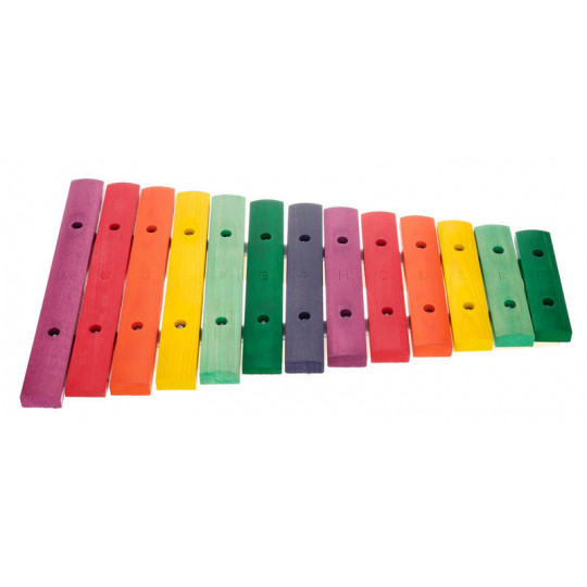 Goldon xylofon v barvách Boomwhackers h2 - g4