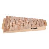 GOLDON - xylofon - 15 kamenů, zvýšený rám (11220)