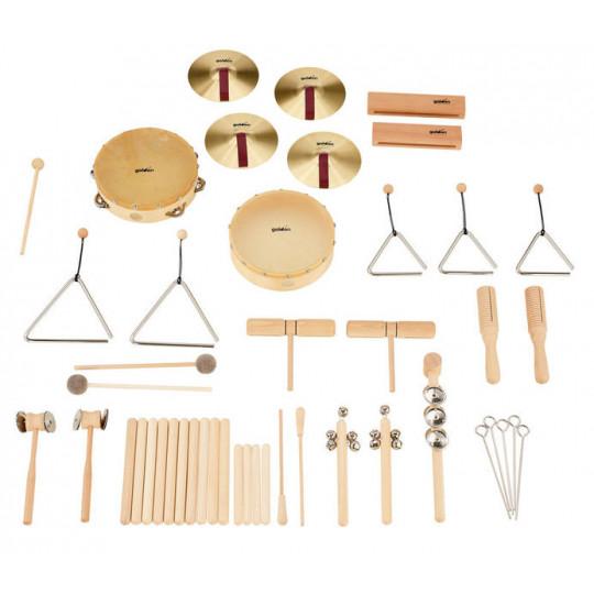 Goldon sada rytmických nástrojů v tašce sortiment 2