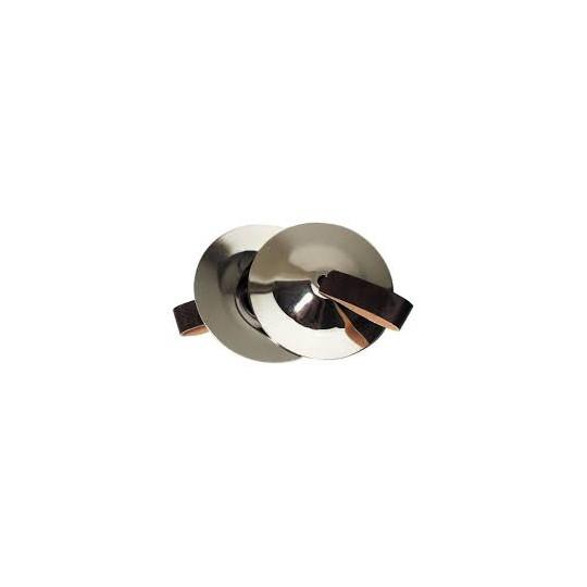 GOLDON - prstové činelky 6,7cm - ocelové (34000)