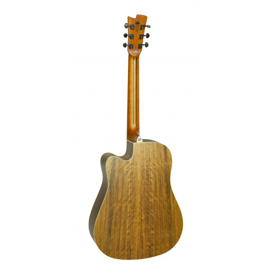 Gilmour Woody WN CEQ polomasivní kytara široký krk