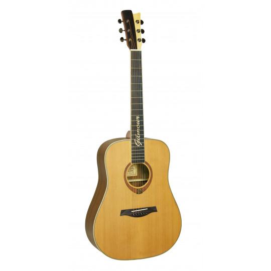 Gilmour Woody WN polomasivní kytara s širším krkem