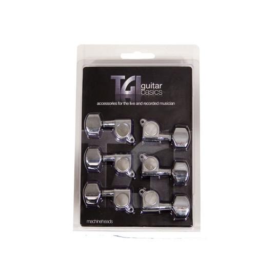 TGI TG416C ladící mechanika elektrická kytara 6 chrom