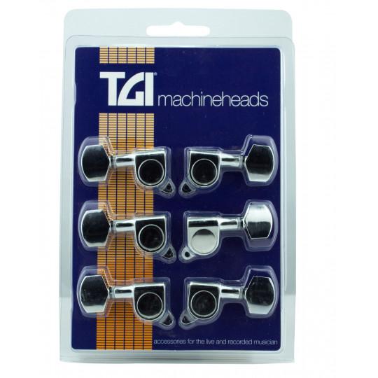 TGI TG415C ladící mechanika elektrická kytara chrom