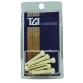 TGI BP20W kolíky do kobylky krémové s tečkou