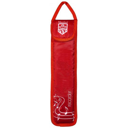 Montford MFRBR obal na flétnu červený