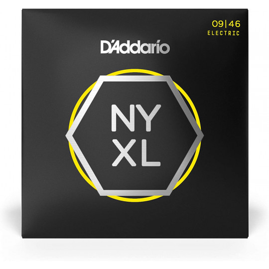 D'Addario NYXL0946 struny pro el. kytaru 9'